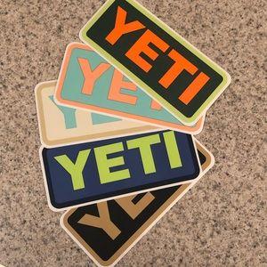 Yeti Cooler Stickers